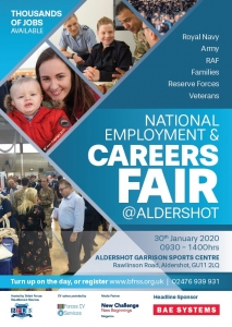 careers fair, service leavers, career transition, CV writing